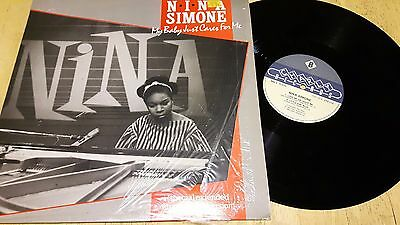 """45rpm 12"""" Vinyl record of Nina Simone """"My baby Just Cares for Me"""""""