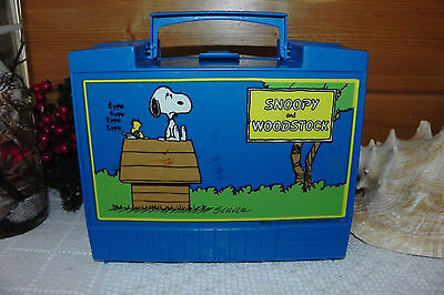 Vintage - 1971 Peanuts - Snoopy & Woodstock - Lunch Box