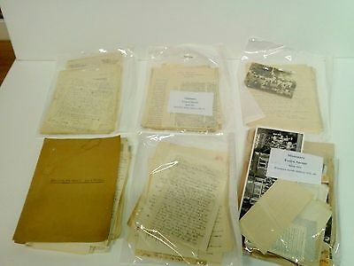 Interesting collection of Religious related missionary letters and clippings ww2