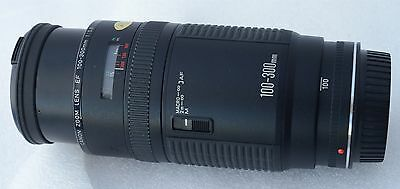 CANON objectif zoom 100-300mm 1:5,6 - macro - AF - pour canon EOS
