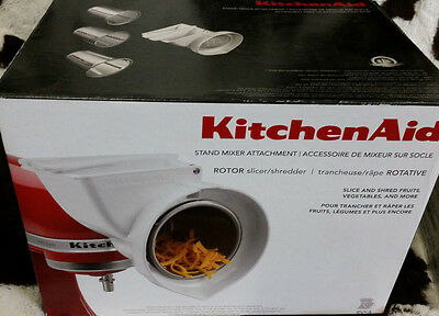 NEW OTHER KitchenAid RVSA ROTOR Slicer/Shredder Attachment for Stand Mixers