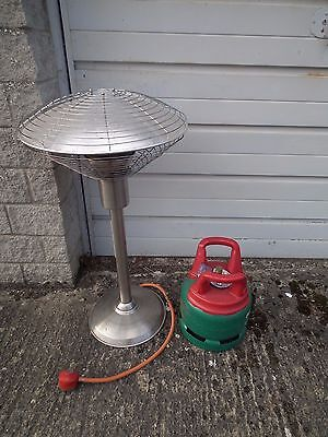 Table Top Patio  Heater, with gas cylinder