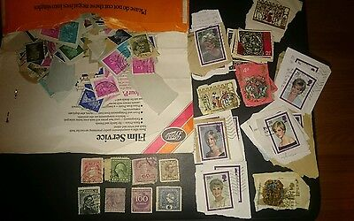 collection of various stamps