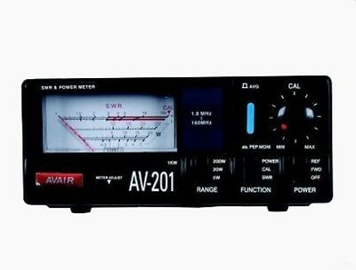 AVAIR AV-1000 VSWR POWER METER 1.8-1300MHz up to 400W