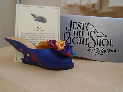 Just The Right Shoe Rio # 25080