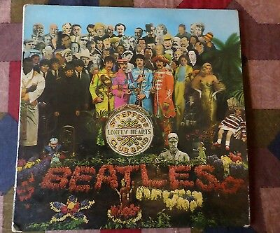 Beatles  Peppers First Press Mono Sgt Lp 1967 Uk 1.2