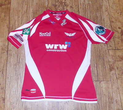 Scarlets Rugby Union Shirt Soccer Jersey M