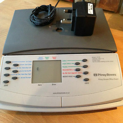 Pitney Bowes Postal office weighing scales G7UK Capacity 1g - 2Kg