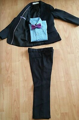 boys 3 piece suit paisley of London wedding occasion  age 4/5