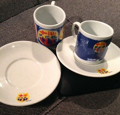 Official Licensed FC Barcelona Expresso Coffee Gift Set. New. Very Rare