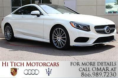 2016 Mercedes-Benz S-Class  2016 Mercedes-Benz S-Class S550 less than 2K miles Factory Warranty Remaining!!