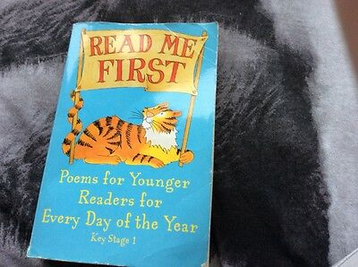 read me first poems for younger readers