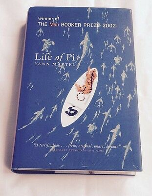 Life Of Pi - Signed By Yann Martel - First (1st)  US Edition (Hardcover)