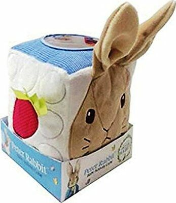 NEW Peter Rabbit activity cube baby soft toy