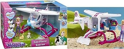New Animagic Rescue Hospital Air Sea Plane Rescue Playset