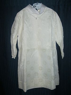 Vintage 1940'-1950's Girls Dress Size 7 Never Worn-Long Sleeve Necklace Sewn On.