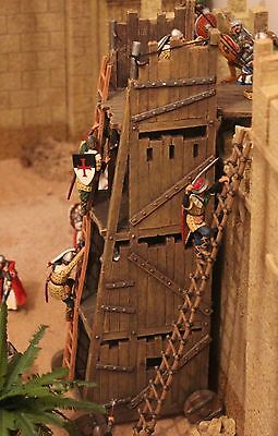 King And Country Knights Crusaders  Mk07 Siege Tower Toy Soldiers   Britains
