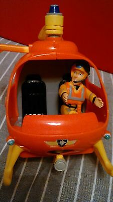 Fireman Sam helicopter and Tom  character