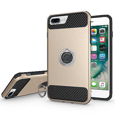 New Shockproof Silicone Protective Hybrid Case Cover For Apple iPhone 7 Plus C21