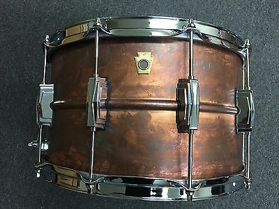 Ludwig 2017 8x14 Copperphonic Snare Drum Model #LC608R WOW $ 878.00