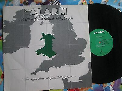 "The Alarm A New South Wales / The Rock I.R.S. EIRS T129 UK Vinyl 12"" Maxi-Single"