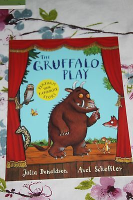 the gruffalo play, paper back book