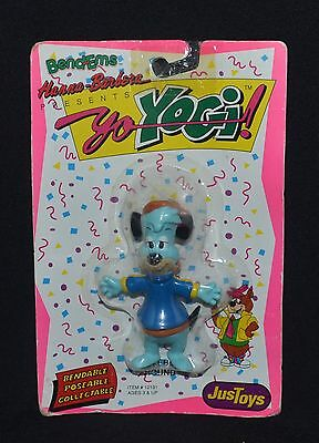 Hanna - Barbera 1991- Bendables - Huckleberry Hound - Figurine  New In Package