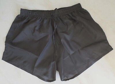 Short polyamide gris taille S
