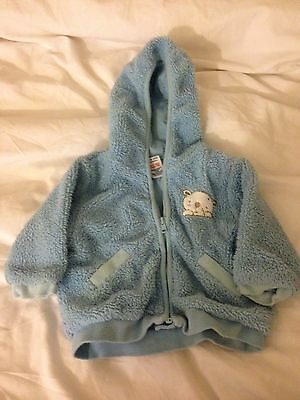 Baby Boys Hooded Jacket 3-6 Months