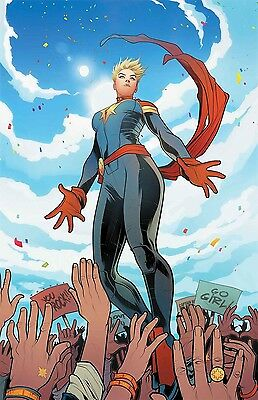MIGHTY CAPTAIN MARVEL #1 Elizabeth Torque Cover NM 1st Print Marvel Comics NOW