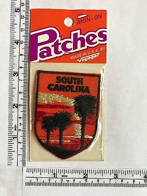 Vintage US State South Carolina Collectible Patch