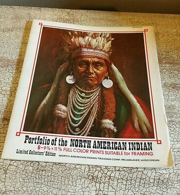 """Set Of 6 American Indian Photograph Prints 9 3/4"""" × 11 5/8"""""""