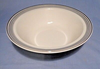 "TAYLOR SMITH TAYLOR 10"" Round Serving Bowl PLATINUM 5 RING"
