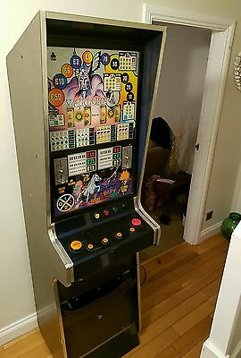 Rare vintage 1980s Ace Warlord fruit machine bandit arcade. Old 10p 50p.
