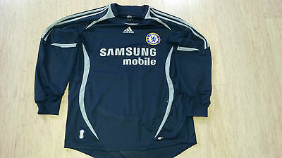 ADIDAS CHELSEA FOOTBALL CLUB Soccer Jersey Size Large