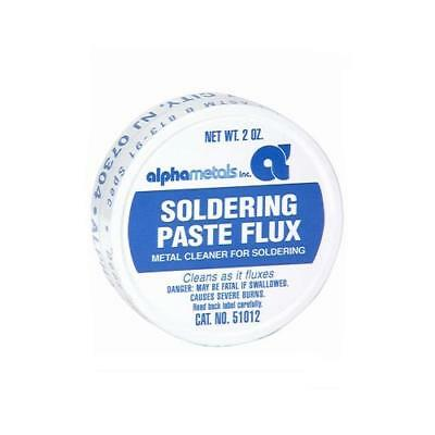 Alpha Metals AM51012 Soldering Paste Flux, 2-oz. - Quantity 1