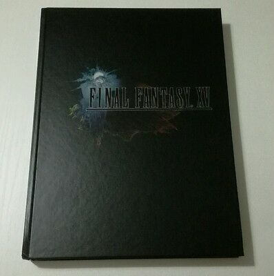 Final Fantasy Xv Guia Limited Collector's Edition Hardcover Artbook Guide