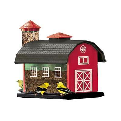 Woodlink 6290 Red Barn Combo Bird Feeder, 7-Lb. - Quantity 1