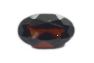Oval Garnet 3X5 1 pc Faceted Red gems UK