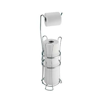 Interdesign 62570 York Lyra Toilet Tissue Reserve Holder, Chrome - Quantity 1