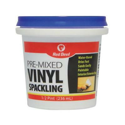 Red Devil 0532 1/2-Pint Vinyl Spackling - Quantity 1
