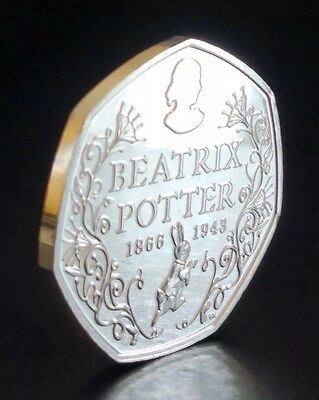 2016��Beatrix Potter WITH Squirrel Nutkin Collectable 2 Coins RARE ��