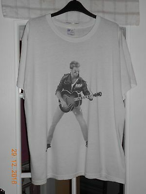 George Michael White T-Shirt Size L Official Merchandise From Wembley