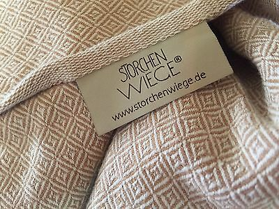 Storchenwiege Woven Wrap 3.6 Meter Size 4 Leo Natural