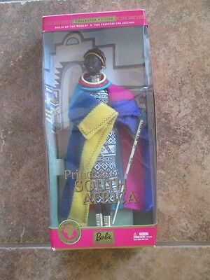 Princess of South Africa 2003 Barbie Doll