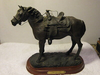 Resin/Metal Horse by Montana Silversmiths #A2505 for Montana Lifestyles 6 lbs