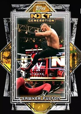 WWE Topps SLAM: NXT Generation Sawyer Fulton