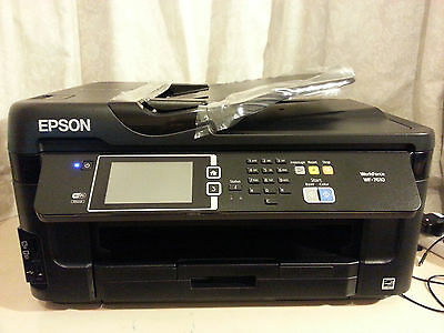 New Epson A3 Multifunctional Inkjet Printer, Workforce Wf 7610