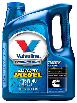 Valvoline Oil 773780 Diesel Engine Oil, 15W40, 1-Gal. - Quantity 1