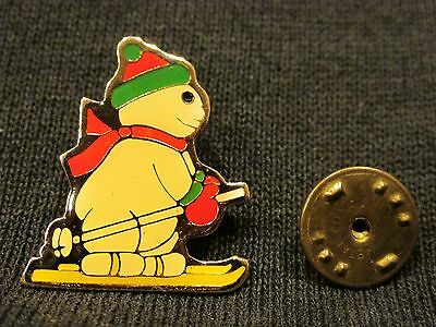 Vintage Christmas Frosty The Snowman Pin / Brooch, Hallmarked, Collectible